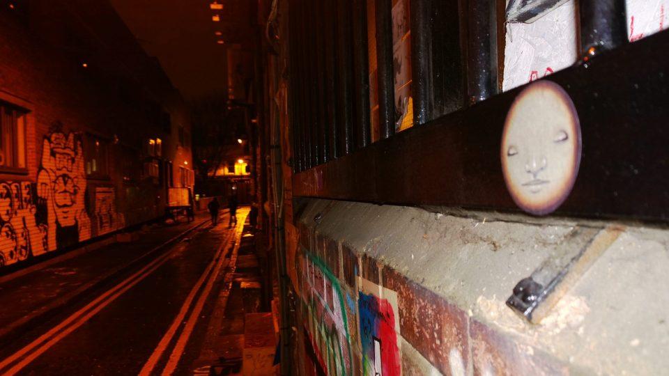 A little sticker on Blackall Street