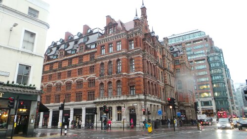 Liverpool Street Station is built on top of the first Bedlem Hospital