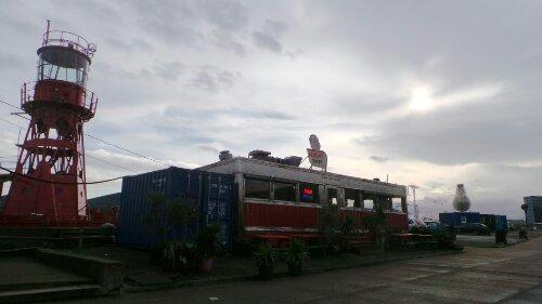 Fatboys Diner on Trinity Buoy Wharf