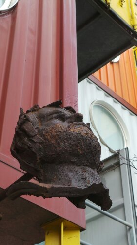 Metal Scupltures by Container City