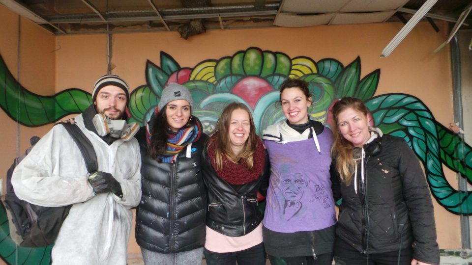 Artists take part in the first big paint jam of the year