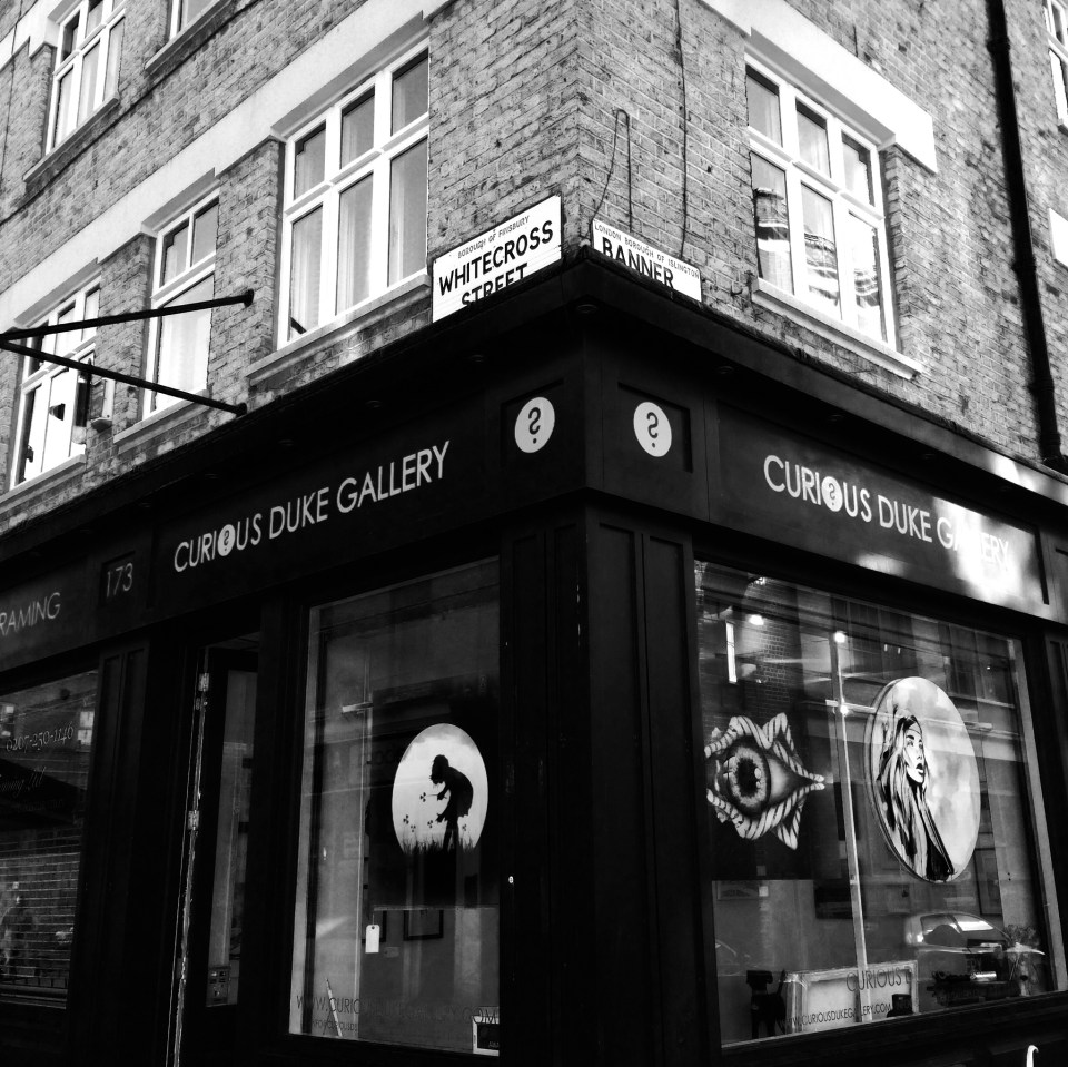 The Curious Duke Gallery in Whitecross Street will be launching the prize with 'Be Smart About Art'