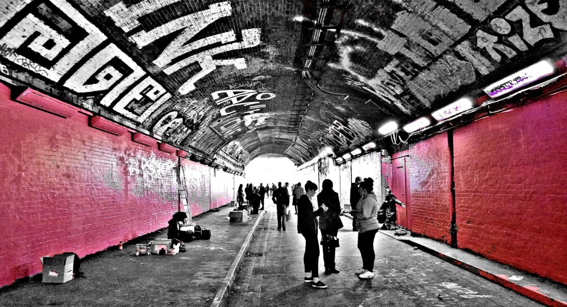 Leake Street, home to the Femm Fierce festival
