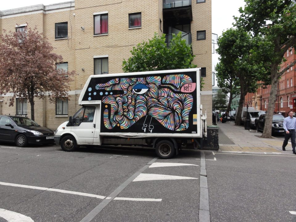 Kef Art on the move