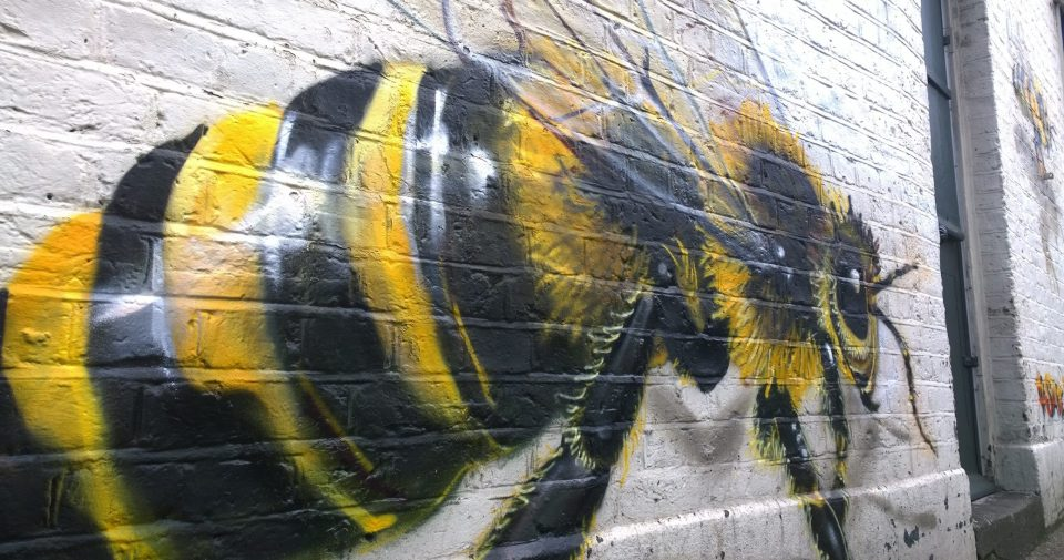 Big Bee on Ellsworth Street