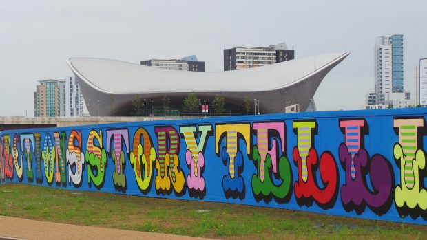 Eine art by the Olympic Park