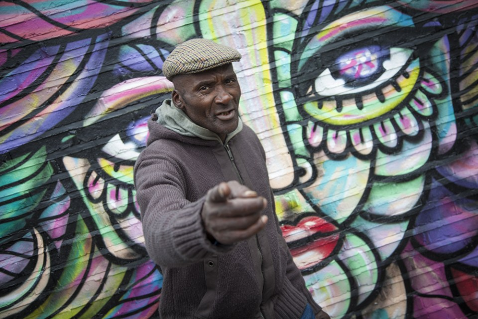 Brick lane came top in our 'best places to see street art list' (photo by Lewis Phillips)