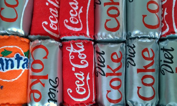 Cans of Coke
