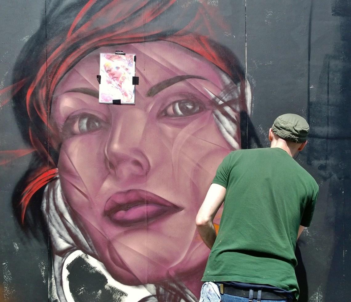 Artist on Hewett Street