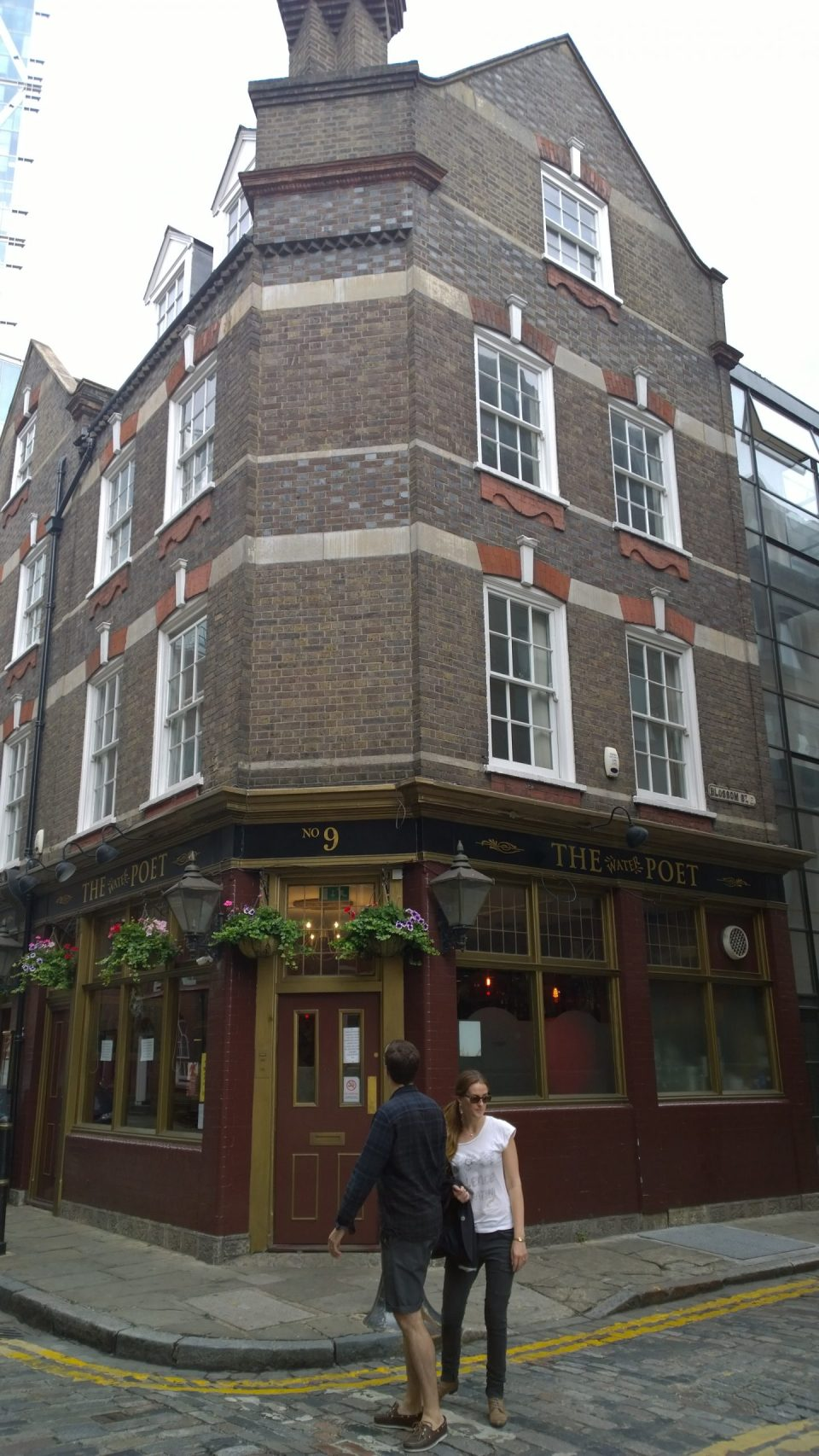 The Water Poet pub will be saved, but the buildings either side will see wholescale re-development