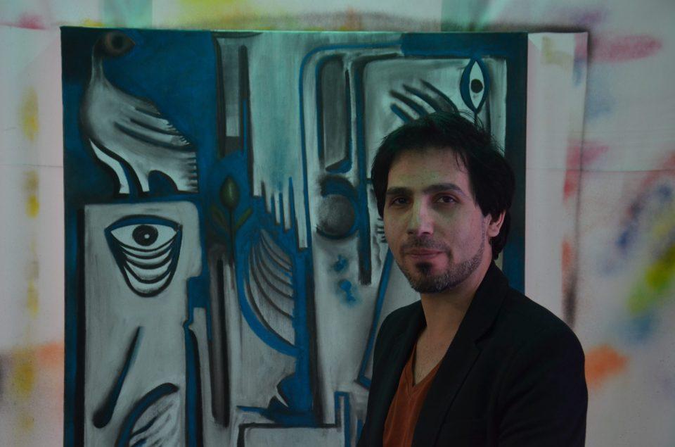 Syrian artist  Tarek Tuma courtesy of International Alert