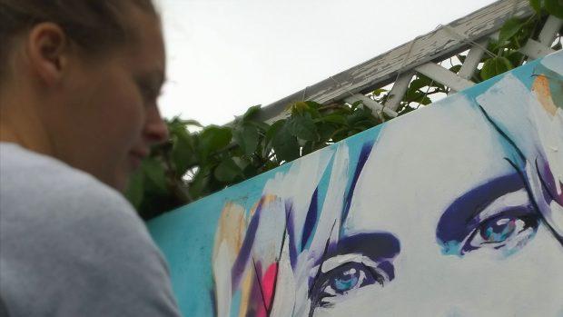 Hannah Adamaszek and the all important eyes