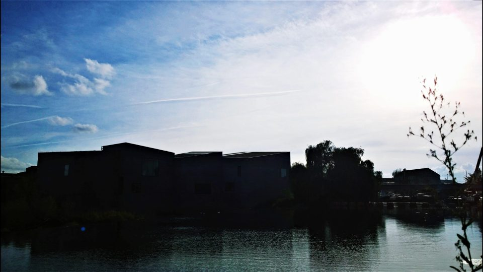 The Hepworth Gallery in Silhouette