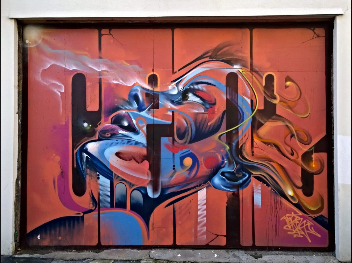 Mr Cenz art on New Inn Broadway in Shoreditch