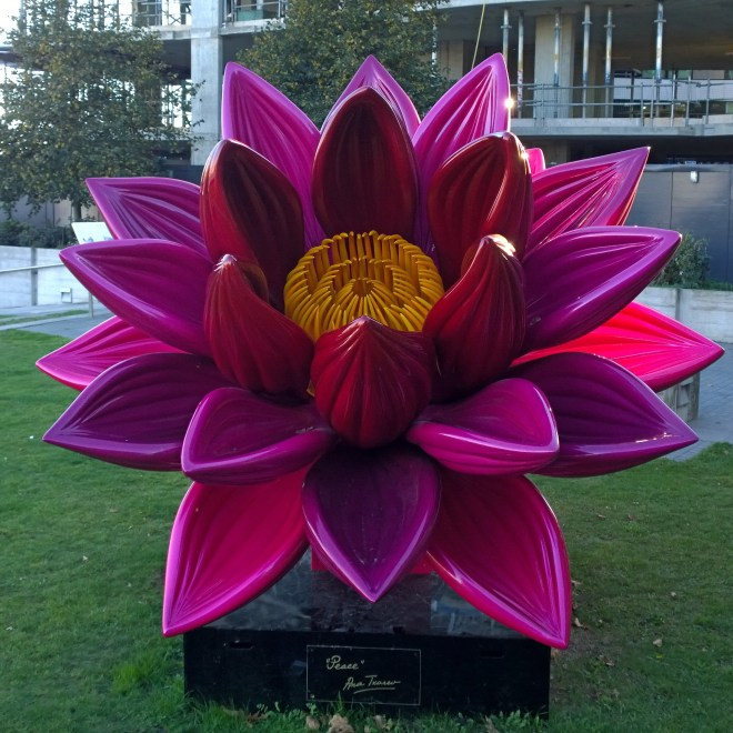 Ana Tsarev Peace Sculpture