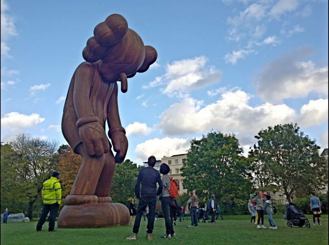 Small lie (2013) by KAWS