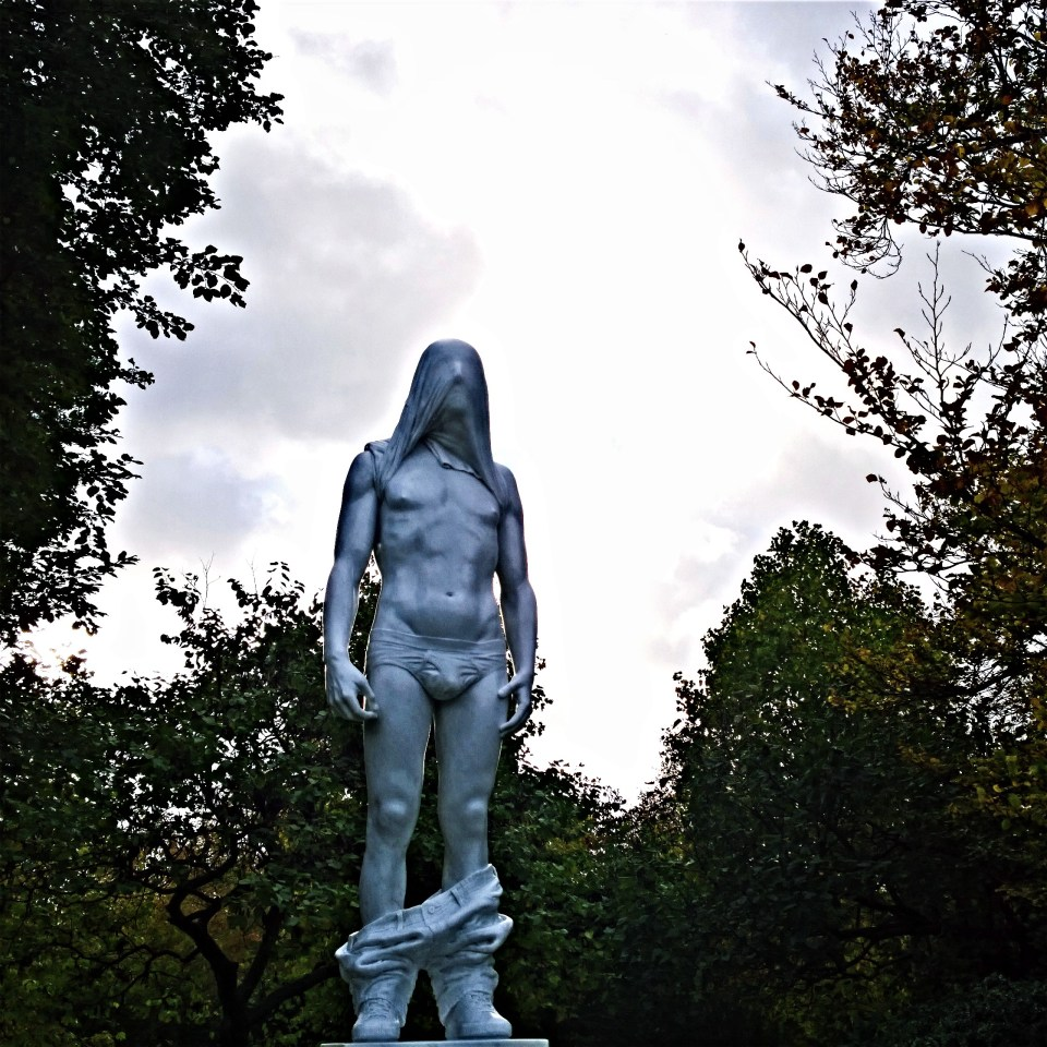 Naked Man (2013) by Reza Aramesh from Leila Heller Gallery