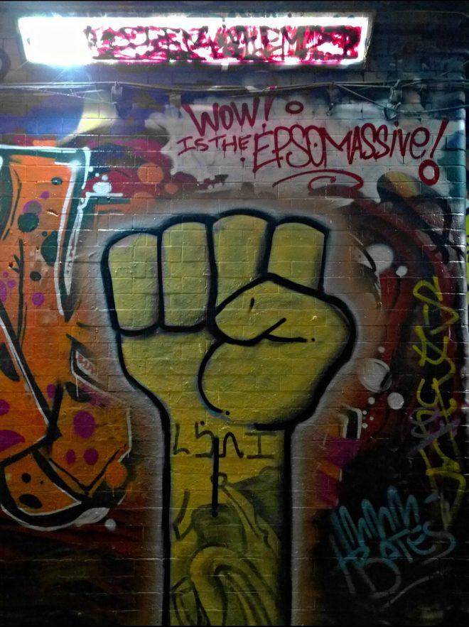 Fist by Pauli Bates