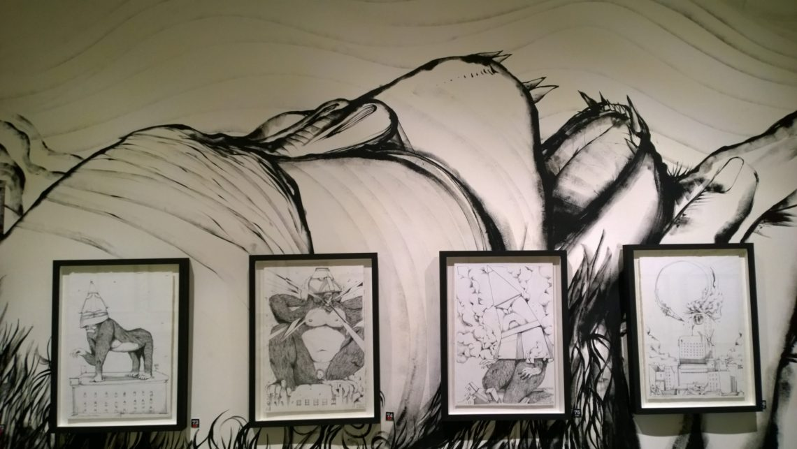 Giacomo Bufarini art at Parabola di G