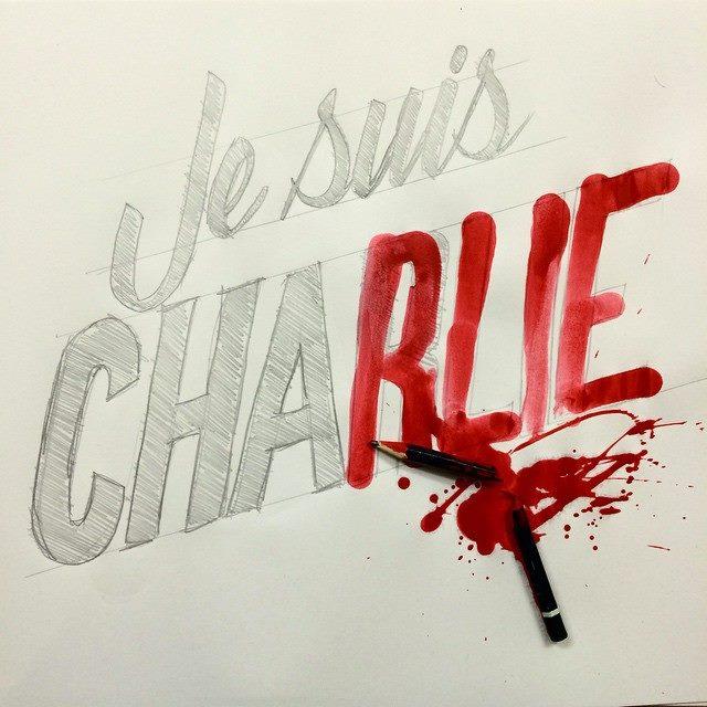 Je Suis Charlie Ripo tribute