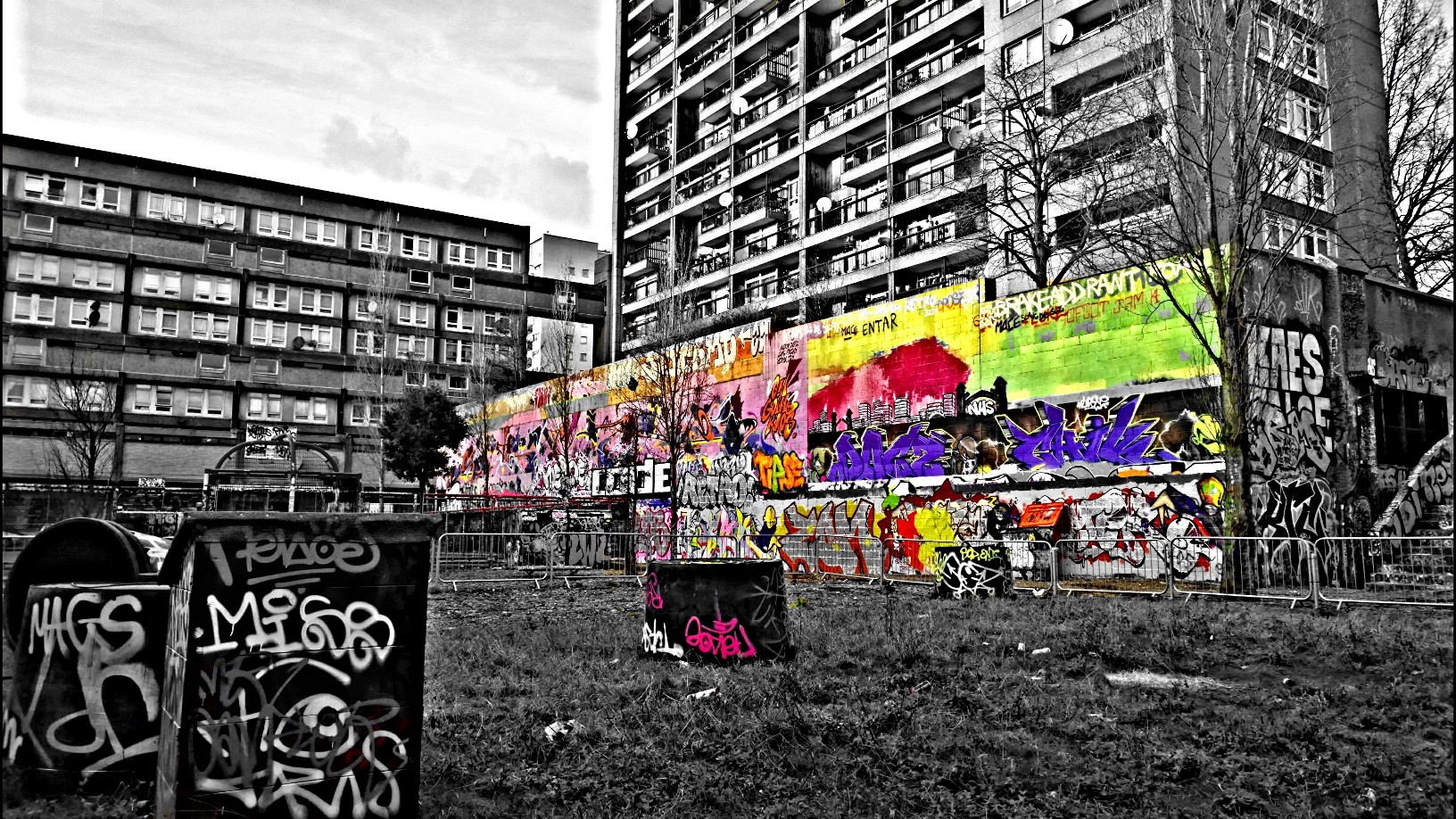 A Street Art Journey To The Trellick Tower In West London