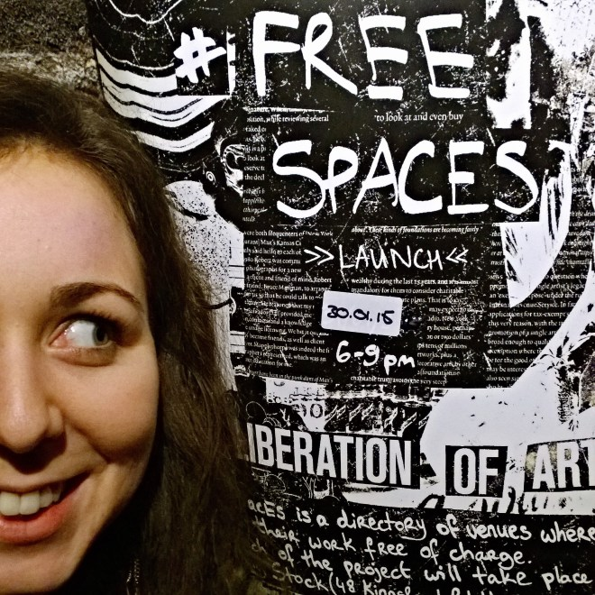 Free Spaces launches on 30 January 2015 at Rolling Stock