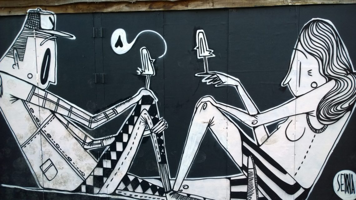 Alex Senna on Water Lane