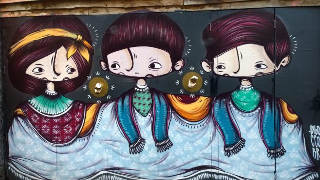Three Amigos on Water Lane