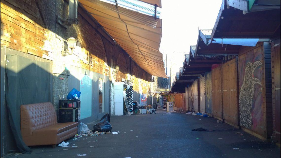 Empty sheds