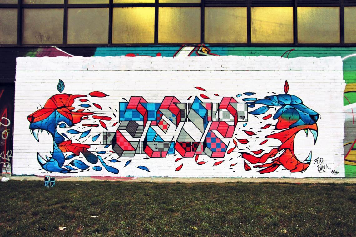 Fio Silva collaboration with Zedz in Italy