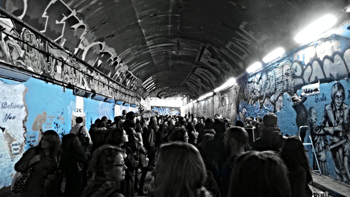 The Leake Street Tunnel for Femme Fierce 2015