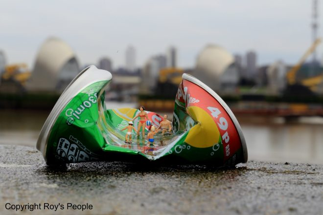 Recyclapool will be available as a series of prints and installations