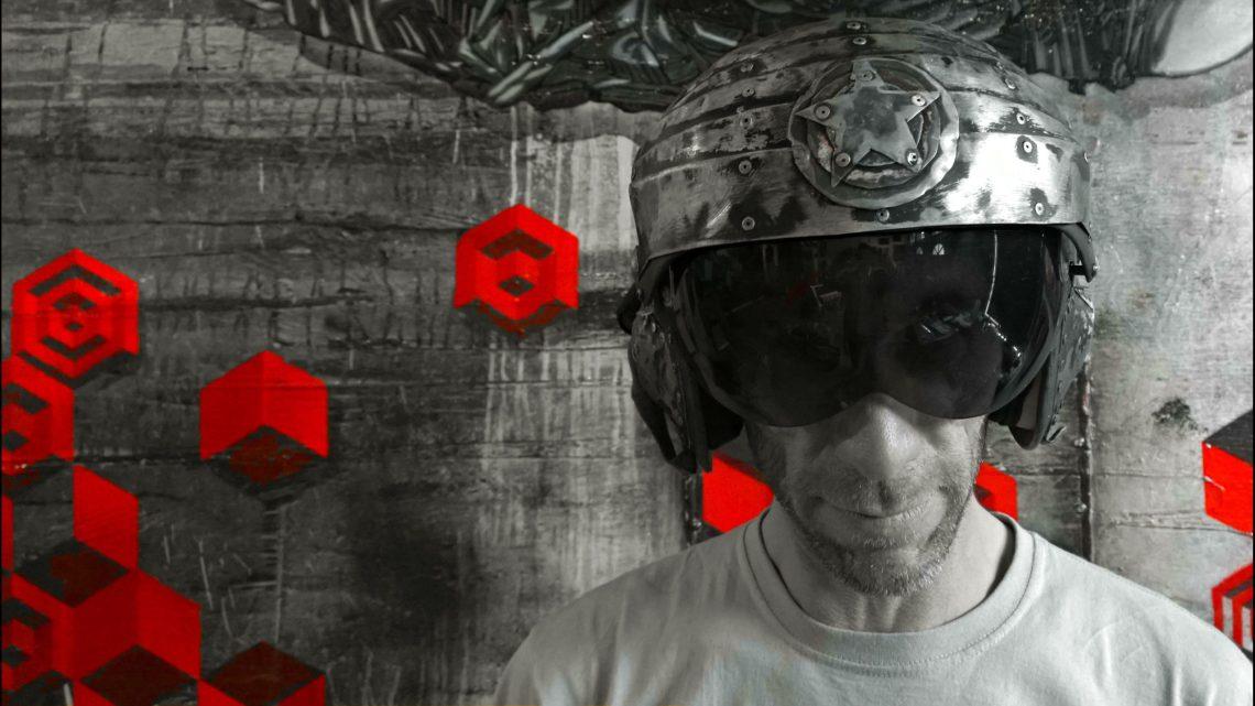 Graffiti and street artist SNUB