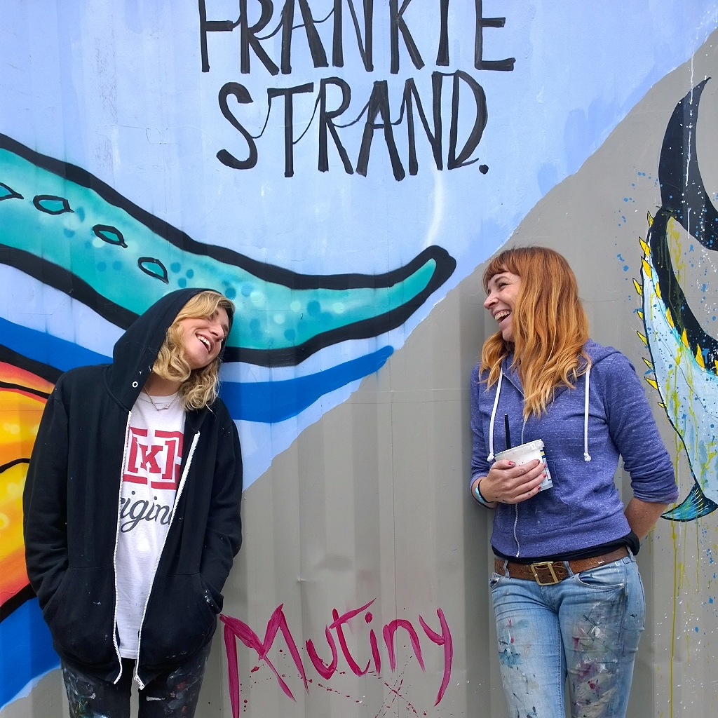 frankie strand and mutiny