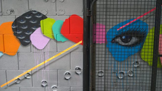My Dog Sighs collaborating with the toasters just off Cambridge Heath Road