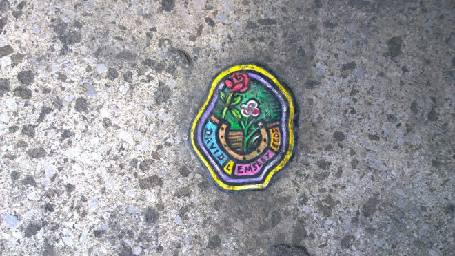 Ben Wilson chewing gum art
