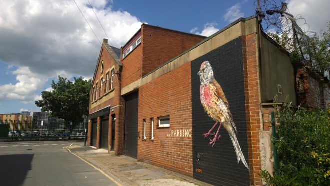 ATM's Linnet can be found on Sheaf Street in Leeds