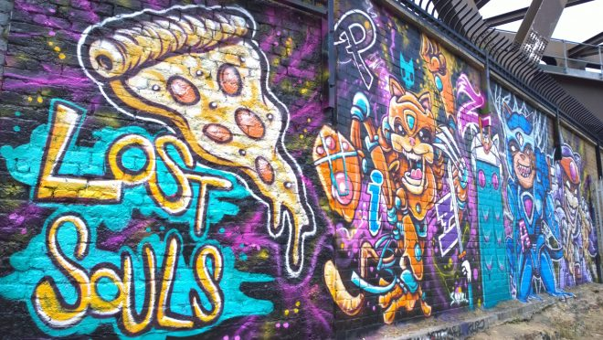 Pizza samurais was the theme of the Lost Souls latest collaboration