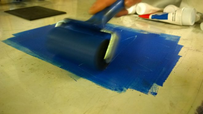 Roll some paint
