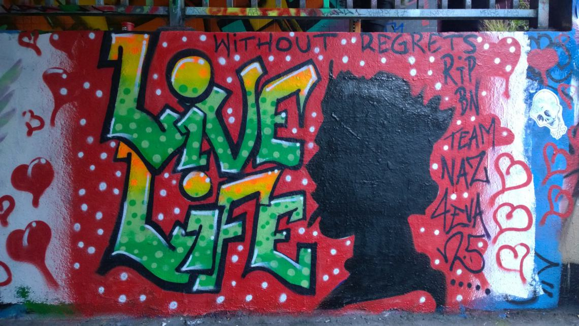 'Live Life' not sure who the artist is on this one
