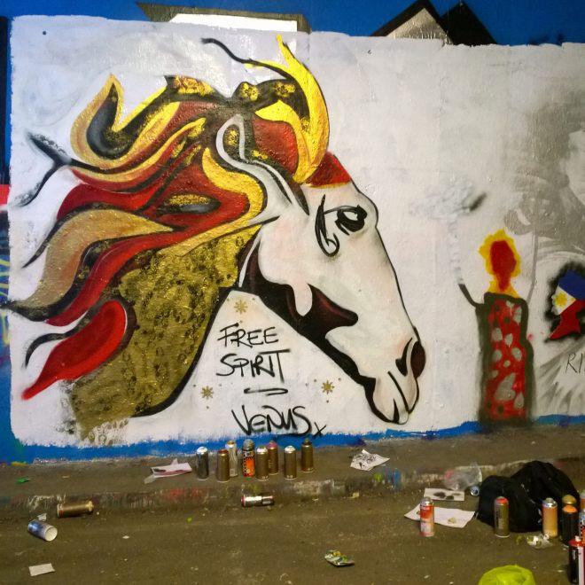 'Running Free' a stallion by Venus