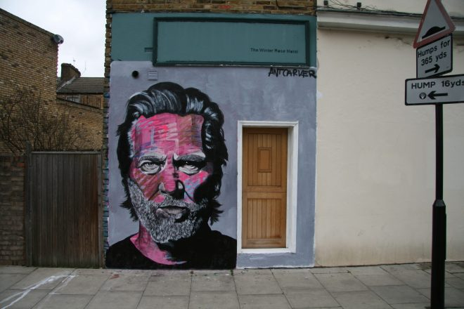 Jeff Bridges street work