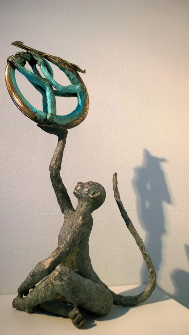 bronze sculpture from Jonesy
