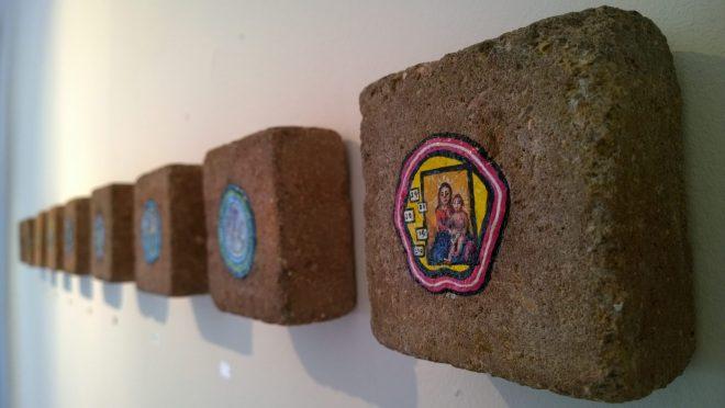 Chewing gum art from Ben Wilson