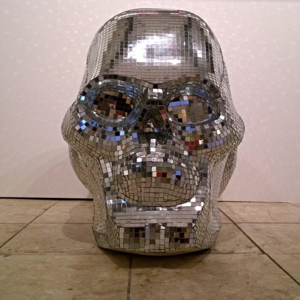 Alfie Black Mirrorball skull