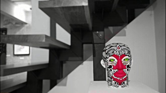 P.O.D.E skull