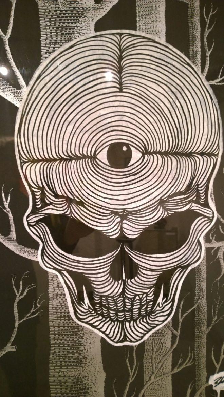 Blair Zaye skull