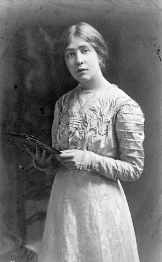 Sylvia Pankhurst who formed the East London Federation of the Suffragettes