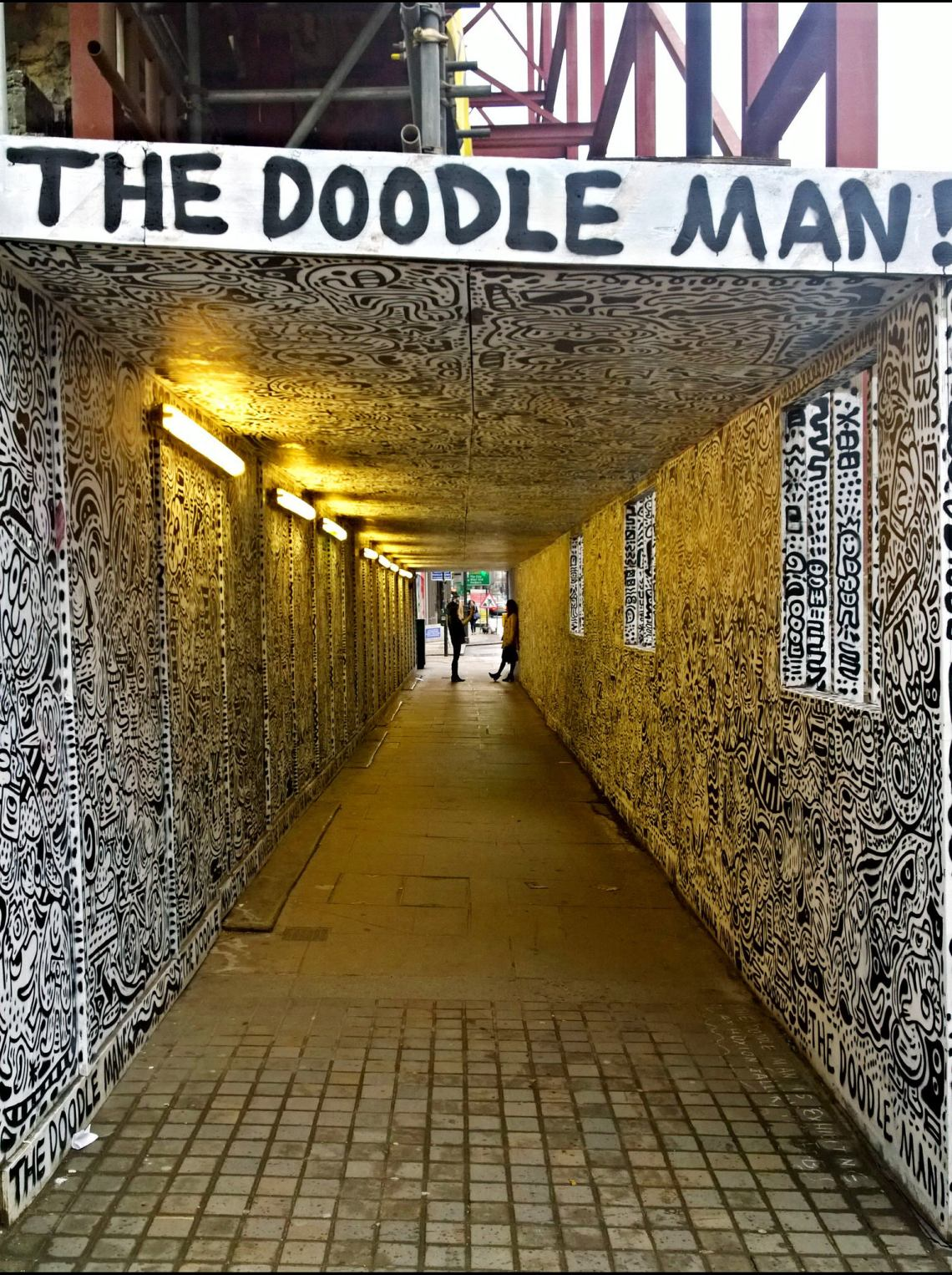 the doodle man