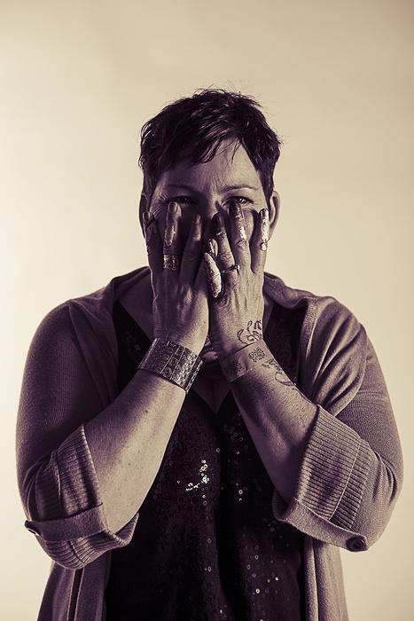 Portrait of artist Cherie Strong